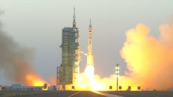 Watch: China Launches Two Astronauts Into Orbit