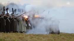 Watch Thousands Reenact 200-Year-Old Napoleonic Battle