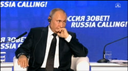 Putin Claims U.S. Provoking Anti-Russian Sentiment