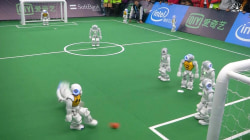 Texas Beats Australia at Soccer 'RoboCup'