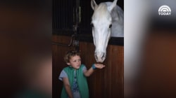 Boy sells lemonade for 2 years to buy pony