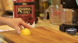 How to deep clean your cutting board using two simple ingredients