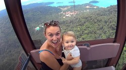 Mom spends maternity leave traveling the world with baby