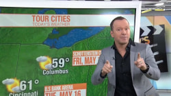 Watch Donnie Wahlberg do the weather with Dylan Dreyer on TODAY