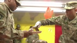 See how US troops are celebrating Thanksgiving
