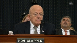 James Clapper Announces Resignation at House Hearing