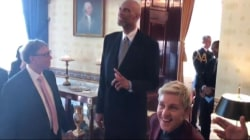 Medal of Freedom Recipients Do Star-Studded Mannequin Challenge