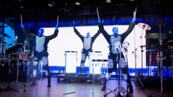 See Blue Man Group's 25th anniversary performance live on TODAY