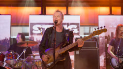 Sting performs classic Police song 'Next To You' live on TODAY