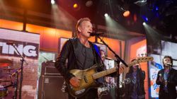 Watch Sting perform 'I Can't Stop Thinking About You' live on TODAY