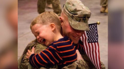 Thank you, military moms and dads