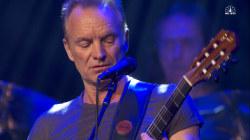 Sting Honors Paris Attacks Victims at Concert