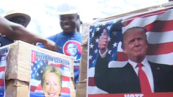 Obama Father's Kenyan Hometown Holds Mock US Election
