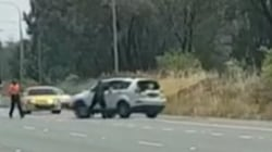 Bystanders Rescue Unconscious Driver From Out of Control Car