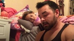 Veteran who stutters reads to his daughter every day