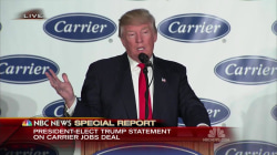 NBC News Special Report: Trump Speaks on Carrier Deal