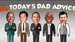 TODAY dads offer their best fatherly advice to Dylan Dreyer's hubby