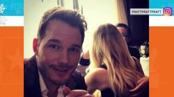 Chris Pratt continues photo pranks: Jennifer Lawrence's face on his body