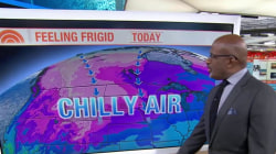 Arctic blast ushers in cold temperatures from coast to coast