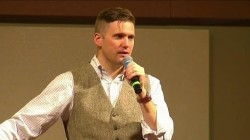 Hundreds protest white nationalist Richard Spencer's speech at Texas A&M