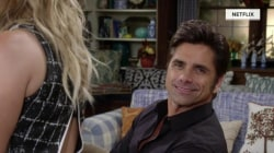 John Stamos breaks character in 'Fuller House' to deliver a message to Mary Kate and Ashley Olsen