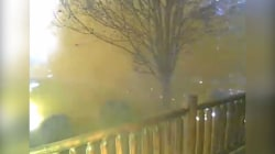 Man Watches Gatlinburg Home Burn From Camera Feed