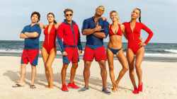 This teaser for the 'Baywatch' trailer starring Dwyane Johnson looks irresistible