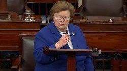 Longest Serving Woman Senator, Barbara Mikulski, Gives Farewell Address