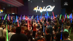 Fans Hold Lightsaber Vigil for Carrie Fisher