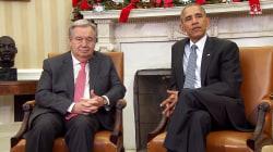 Obama Praises Incoming UN Secretary-General