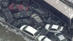 Three Dead in 40-Vehicle Pile-Up on Michigan Interstate