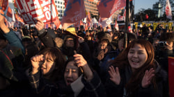 Huge Crowds Celebrate Vote to Impeach South Korean President