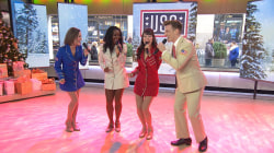 Watch USO Show Troupe give holiday a cappella performance live on TODAY