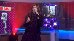 Marina Morgan performs powerful anthem 'Paralyzed' live on TODAY