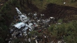 Colombia plane crash: Cockpit recording suggests there was a 'fuel emergency'