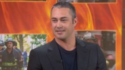 Taylor Kinney talks about 'Chicago Fire' 100th episode, ex-fiancee Lady Gaga