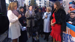 'America's Next Top Model' judge Ashley Graham helps TODAY's Toy Drive