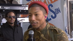 Pharrell Williams talks about working on the music for 'Hidden Figures'
