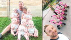 'OutDaughtered' quintuplets help baby sitter Dylan Dreyer prepare for motherhood