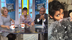 Tamron Hall's ombre Christmas tree finally arrives (she tracked it!)