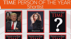TIME magazine's Person of the Year short list: Trump, Clinton, Beyonce, more