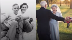 Couple celebrates 70th wedding anniversary with sweet photo shoot