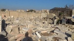 No Room For The Dead in Aleppo's Cemeteries