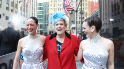See the Rockettes make this 69-year-old dancer's dream come true