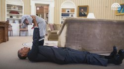 President Obama loves kids! See the adorable photos