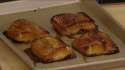 Try this delicious marinated black cod with acacia honey recipe