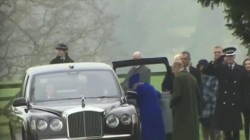 Queen Elizabeth makes her first public appearance since illness
