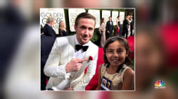 Inspiring America: 8-Year-Old Cancer Survivor Charms Golden Globes