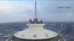 Video released of drone crashing into Seattle's Space Needle