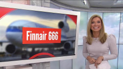 Flight 666 bound for HEL lands safely on Friday the 13th